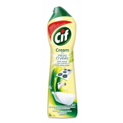 Čistiaci tekutý piesok Cif Cream Lemon 720g/500ml